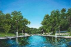 """Barton Springs Pool, The Deep End"""
